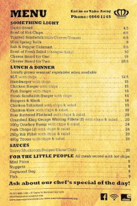 The-Menu-at-the-Crown-Hotel-Maryvale-Queensland