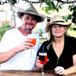 Michael and Annie Keddy the new owners of the Crown Hotel Maryvale Queensland