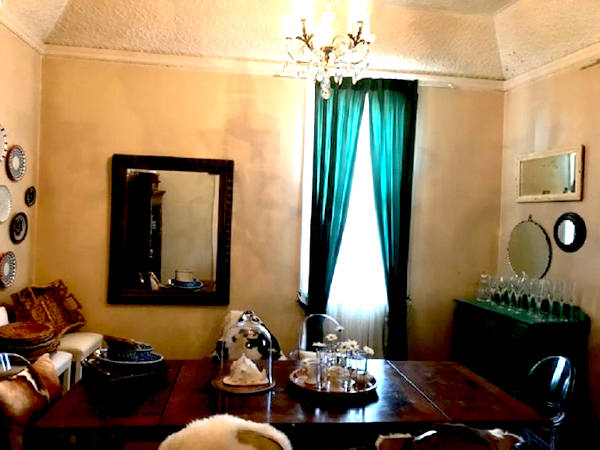 Private dinning room newly renovated at the Crown Hotel Maryvale Queensland